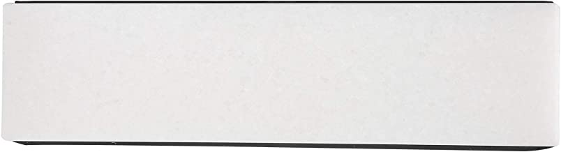 Large Affûtage Pierre, 20 X 5 X 2.5cm Cuisine Couteau Taille crayon blanc Jade et Silicone pour Domicile (blanc)