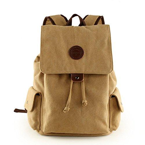 Sincere® Fashion Backpack / Zipper Sacs à dos / rue étudiants mode / multifonctions / sac en toile / haute école sac / sac à bandoulière casual / extérieur sac de sport / ordinateur sac kaki