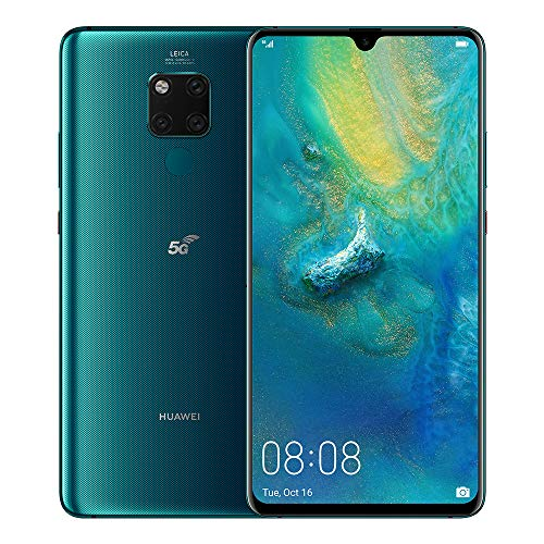 Huawei Mate 20X 5G - 256 GB 7.2-Inch 2K FullView Android 9.0 SIM-Free Smartphone with New Leica Triple AI Camera and Ultra Wide Angle Lens, Single SIM, UK Version