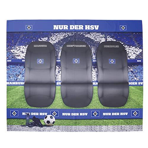 Hamburger SV Sofaüberwurf Trainerbank HSV