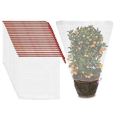 ENPOINT 20PCS Tomato Plant Netting Mesh, 37 x 2...