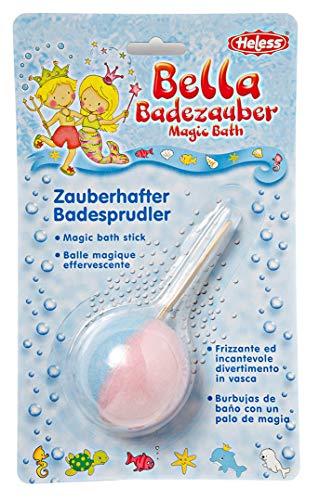 Heless 7007 - Badbom in lollipop-vorm, roze, voor een sprankelende, bruisende badervaring
