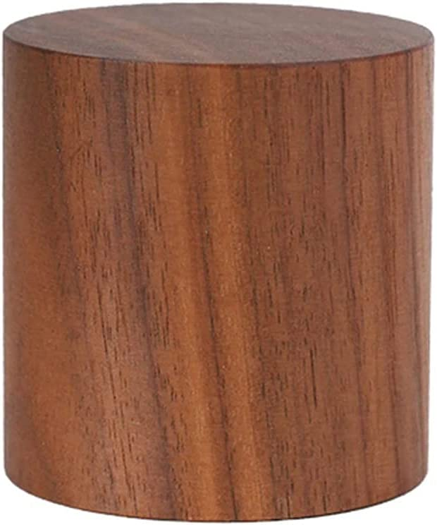 Wooden Risers for Japan Maker New Decor National products - Cylinder High-end Vintage Walnut Black