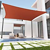 Tronssien Rectangle 10'x13' Sun Shade Sail,95% UV Blockage Canopy Awning for Outdoor Patio and Garden, Yard Activities