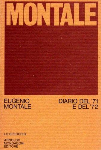 Diario del '71 e del '72