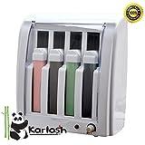 Karlash Roll On Wax Warmer YM-8325 Electric Hot Depilatory Wax 4 Cartridge Heater