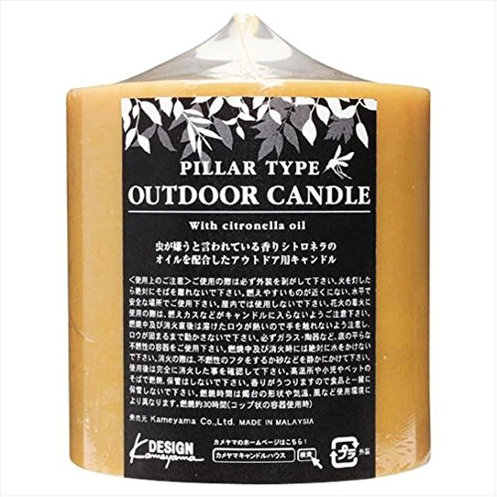大混乱好奇心デモンストレーションカメヤマキャンドル( kameyama candle ) アウトドアキャンドルシトロネラ 714Z