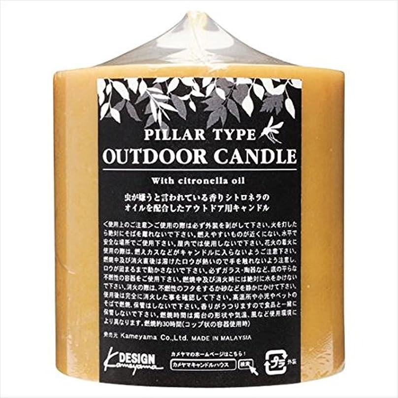 奨励名前で迫害するカメヤマキャンドル( kameyama candle ) アウトドアキャンドルシトロネラ 714Z
