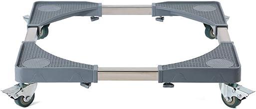 Rechthoekige multifunctionele beweegbare verstelbare basis met 4 vergrendelbare rubberen zwenkwielen Roller telescopische ...