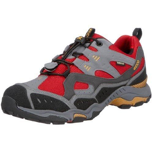 Ecco FAST TRAIL 91204, Herren Sportschuhe - Walking, rot, (TITANIUM/MOONLESS 55916), EU 41