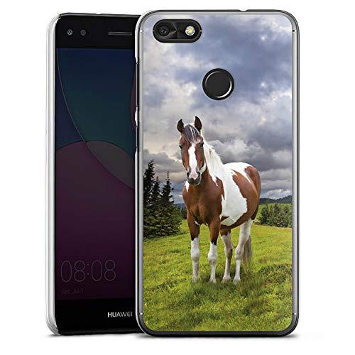DeinDesign Hülle kompatibel mit Huawei P9 lite Mini Handyhülle Case Pferd Horse Stute
