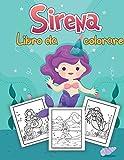 Sirena Libro da colorare per i bambini: Unico Disegni da colorare | Per bambini di età 4-8, 9-12 (Li...