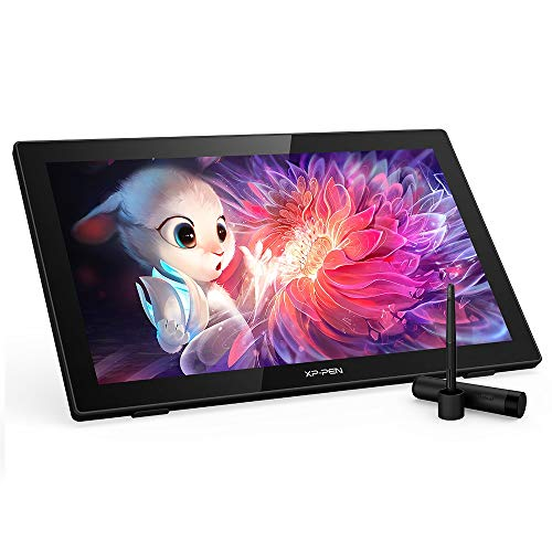 XP-PEN Artist 22 (2. Generation) 21,5 Zoll Grafiktablett, 1080p Stift-Display, mit 86% NTSC Farbumfang, Batteriefreier Stift und Verstellbarer Ständer, Kompatibel mit Windows and Mac