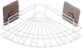 Étagère d'angle Douche Salle de bain d'angle étagère d'angle adhésif douche Caddies mural Salle de bains Rangement Cuisine...