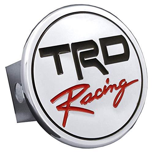 Toyota TRD Racing Cubierta de enganche de cromo enchufe