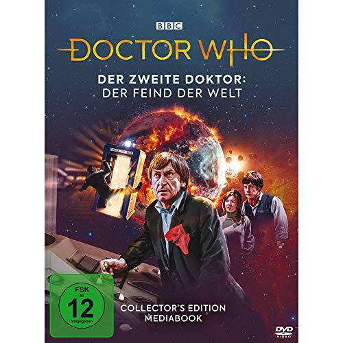 Doctor Who: Der Zweite Doktor - Der Feind der Welt (Mediabook Edition) LTD. [2 DVDs]