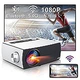 Proyector WiFi Bluetooth , Artlii Enjoy3 Proyector 1080P Nativo Full HD, Soporta Dolby AC3, 2.4G/5G WiFi, para...
