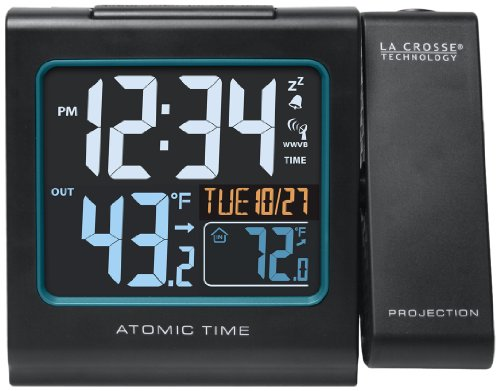 in budget affordable La Crosse Technology 616 ~ 146 color alarm clock, outside temperature projection with USB charging …