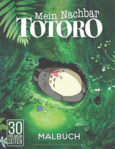 Mein Nachbar Totoro Malbuch: Malbuch fur Erwachsene und Kinder