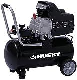 Husky 8 gal. Oil Lubricated Air Compressor, 1.5 HP 4CFM