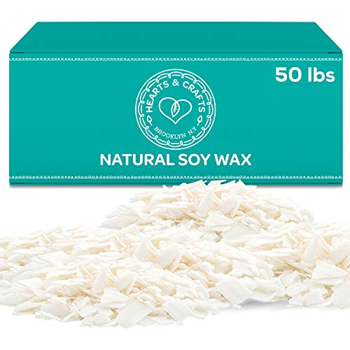 Hearts and Crafts Soy Candle Wax 50 lbs