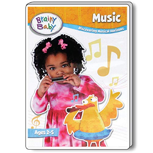 Brainy Baby Music DVD: Discovering Musical Horizons Deluxe Edition