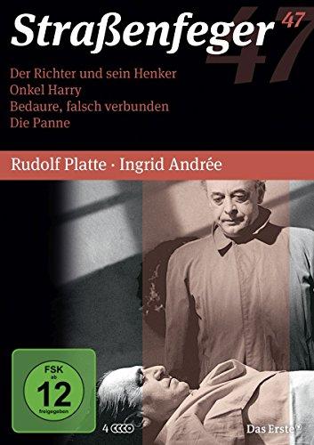 Straßenfeger 47: Der Richter und sein Henker, Onkel Harry, Bedaure, falsch verbunden, Die Panne [4 DVDs]
