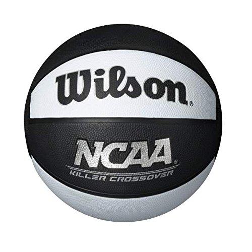 %10 OFF! Wilson Killer Crossover Basketball, Black/White, Official - 29.5