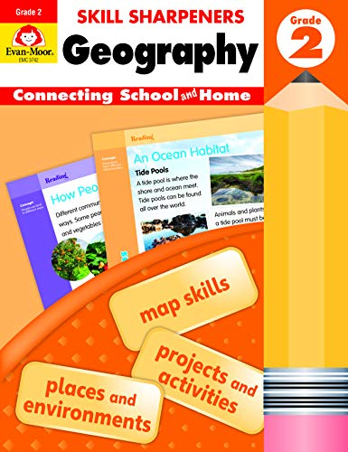 Compare Textbook Prices for Evan-Moor Skill Sharpeners: Geography, Grade 2 Activity Book - Supplemental At-Home Resource Geography Skills Workbook Student Edition ISBN 9781629384696 by Evan Moor