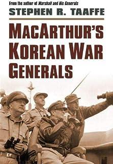 MacArthur`s Korean War Generals (Modern War Studies (Hardcover))