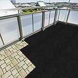 Bautenschutzmatte aus Gummigranulat | erfüllt Bau DIN 18195-10 | Breite 125 cm | Stärke 6mm | Länge wählbar (5m) - 3
