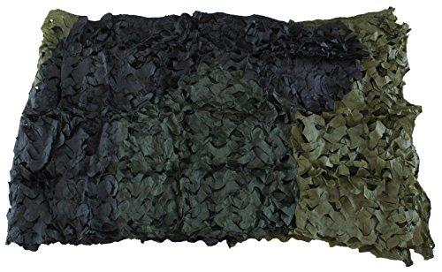 Red de camuflaje en color verde oliva (3 colores) o blanco - Ejército federal caza exterior armada BW camping - producto original Inet-Trades GmbH - verde oliva (3 colores), 3 x 2 m, poliéster