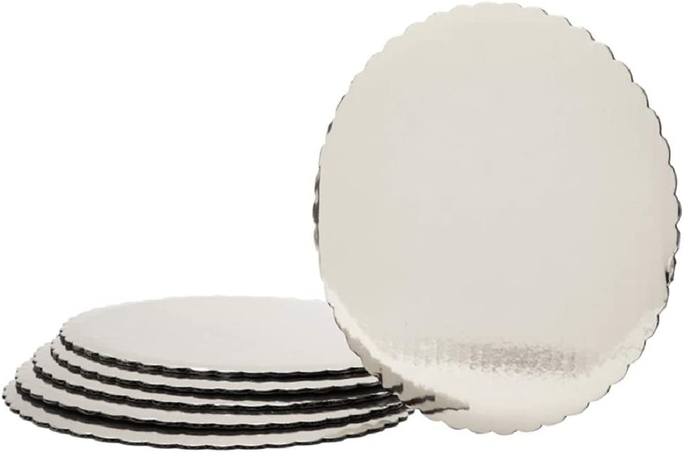 Foil Covered favorite Max 67% OFF Cake Board - inch Pieces Silver 96 12