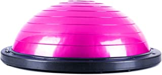 GLJJQMY Yoga Balance Ball Bola Pilates Balance Hemisphere Gym Workout 3 Colors Massage Balance Ball (Color : C)