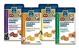 Manuka Health Honig Lutschbonbons, Mischkarton mit 4 Sorten, Schwarze Johannisbeere, Propolis, Zitrone, Ingwer & Zitrone (4 x 100 g)