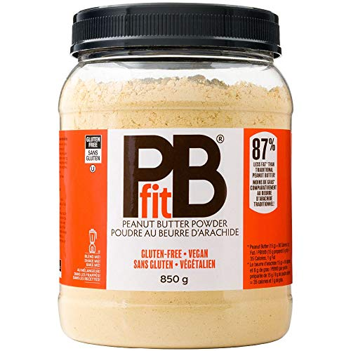 PBfit All-Natural Peanut Butter Powder, Powdered Peanut Spread from Real Roasted Pressed Peanuts, 8g of Protein (30 oz.) (Pack of 2)