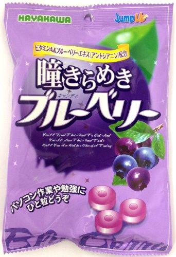 早川製菓 瞳きらめきブルーベリー 100g×20袋