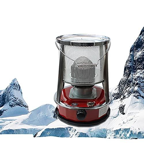 DJLOOKK Calentador de Queroseno portátil, Calentador al Aire Libre, Quemador de Estufa con Calentador diésel, Calentadores de Aceite para Acampar, Suministros para Acampar en Invierno