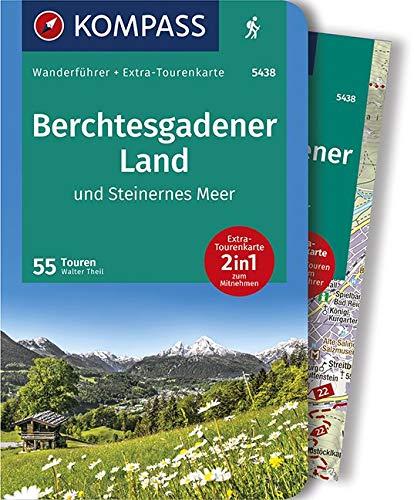 KV WF 5438 Berchtesgadener Land, Steinernes Meer: 0 (KOMPASS-Wanderführer, Band 5438)