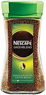 NESCAFE Green Blend Instant Roasted Ground Arabica Coffee Beans Daily Morning Cup100 gm