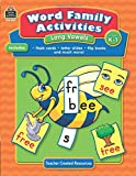 Word Family Activities: Long Vowels Grd K-1: Long Vowels Grd K-1
