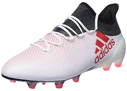 adidas Herren X 17.1 FG Fußballschuhe, Weiß (Ftwwht/Reacor/Cblack), 44 EU