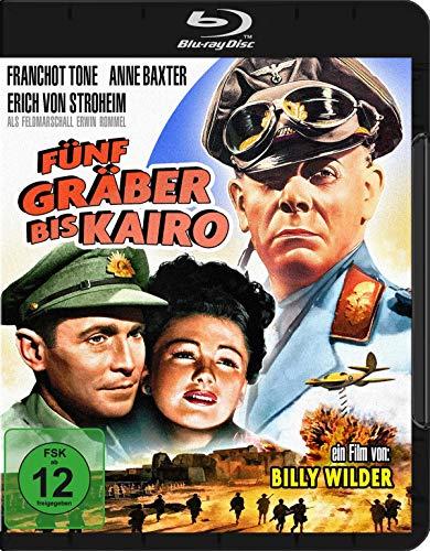 Fünf Gräber bis Kairo (Five Graves to Cairo) [Blu-ray]