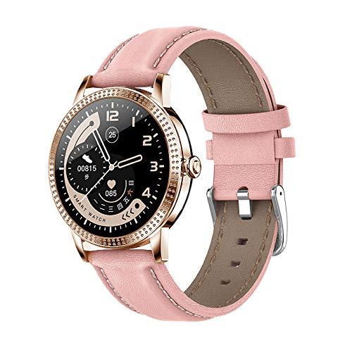 Reloj Inteligente para Mujeres, con Seguimiento de la Salud Femenina, Monitor de frecuencia cardíaca, presión Arterial, rastreador de Ejercicios