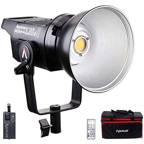 Aputure LS C120D Mark II LED Videoleuchte, aputure 120d ii Studioleuchte Dauerlicht Leuchte mit Bowens Halterung DMX Unterstützt 180W 30.000Lumen mit