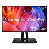 ViewSonic VP2468a - Monitor LED - 24'(23,8' visibles) - 1920 x 1080 Full HD (1080p) a 60 Hz - IPS - 250 CD/m² - 1000: 1-5 ms - HDMI, DisplayPort
