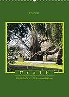 Uralt - Mit QR-Code und GPS zu alten Baeumen (Wandkalender 2022 DIN A2 hoch): Mit QR-Code und GPS zu alten Baeumen (Planer, 14 Seiten )