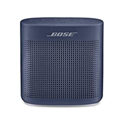 Innovative Bose technology packs bold sound into a small, water resistant speaker Built-in mic for speakerphone to take clear conference or personal calls out loud with a wireless range of approximately 30 feet. Rugged, with a soft touch silicone ext...