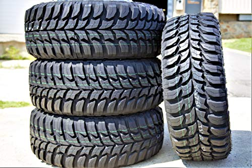 Set of 4 (FOUR) Crosswind M/T Mud-Terrain Radial Tires-LT285/65R20 127/124Q LRE 10-Ply