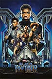 Black Panther - Marvel Movie Poster/Print (Regular Style) (Size: 24 x 36 inches)